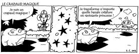 Comic-strip, Éditions de la Chaussette