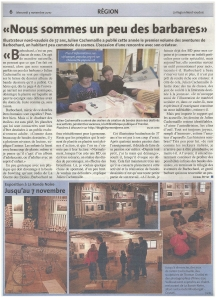 Publication Barbochard, tome 2 Expo La Ronde Noire