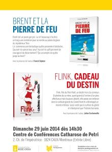 Affiche présentation Librairie Pentagramme