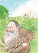 """Illustration pour """"Les aventures de Mirochka"""", aux éditions Rapsodia"""