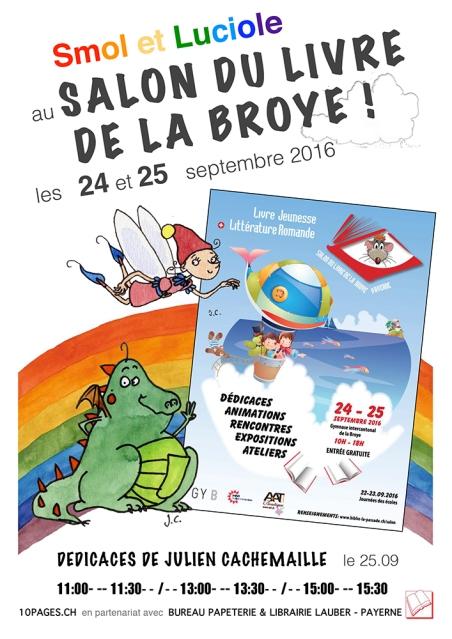 Affiche Salon du livre de la Broye
