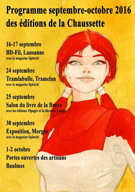 Programme septembre octobre 2016