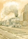 Train Chicago 1913