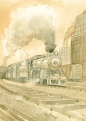 Train Chicago 1913